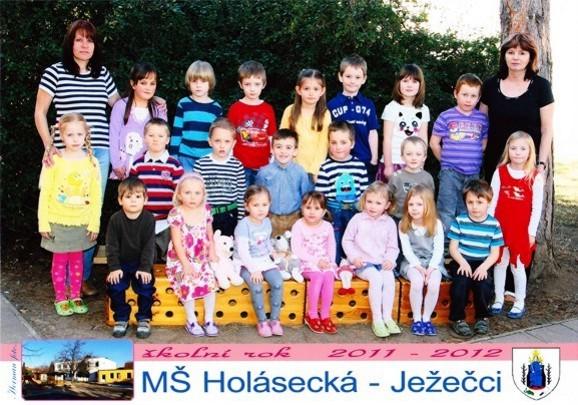 foto třída ježečků