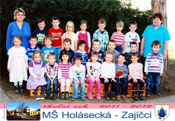 foto třída zajíčků